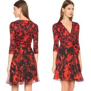 Diane Von Furstenberg Dresses - $478 Diane von Furstenberg Irina Wrap Silk Dress